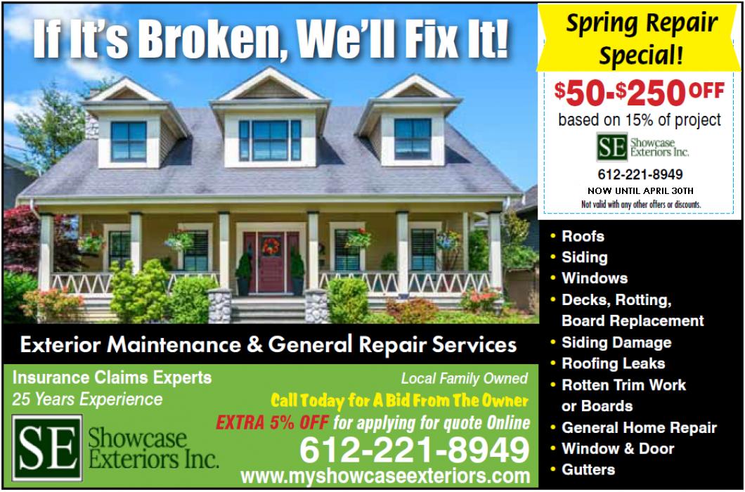 Roofing, Replacement Windows, Door Repair, Siding: Lino