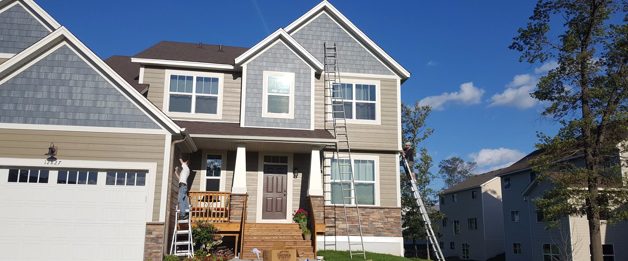siding repair coon rapids mn