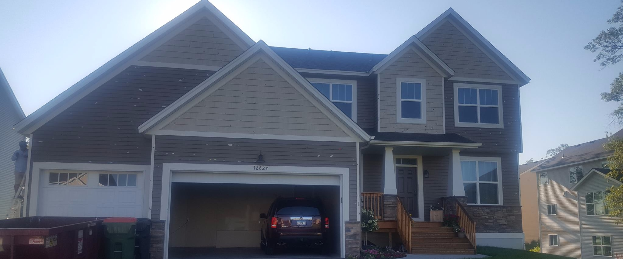 siding repair lino lakes mn